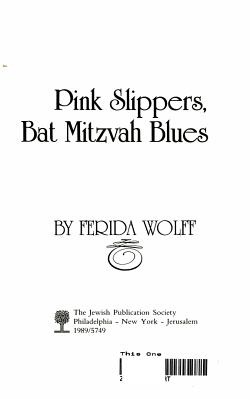 Pink Slippers  Bat Mitzvah Blues PDF