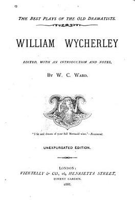 William Wycherley PDF
