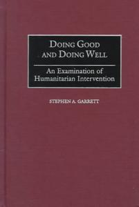 Doing Good and Doing Well PDF