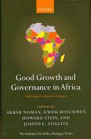 Good Growth and Governance in Africa PDF