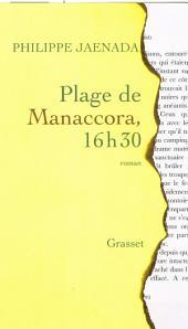 Plage de Manaccora 16: Volume30