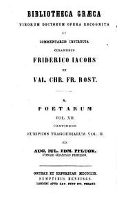 Euripidis Tragoediae: sect. 1. Helena. ed. 2. cur. R. Klotz. 1859. sect. 2. Alcestis. ed. 2. cur. R. Klotz. 1857. sect. 3. Hercules. ed. 2. cur. N. Wecklein. 1877. sect. 4. Phoenissae. ed. 2. cur. N. Wecklein. 1881