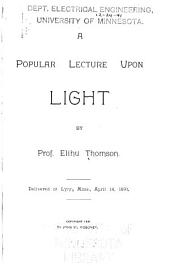 A Popular Lecture Upon Light