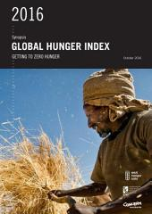 Synopsis, 2016 Global Hunger Index: Getting to zero hunger