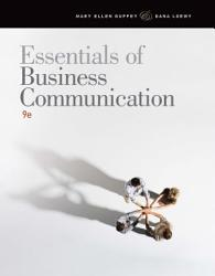 Essentials Of Business Communication Book PDF