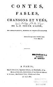 Contes, fables, chansons et vers