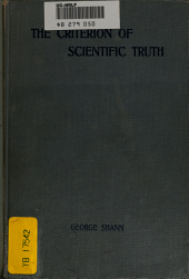 The Criterion of Scientific Truth