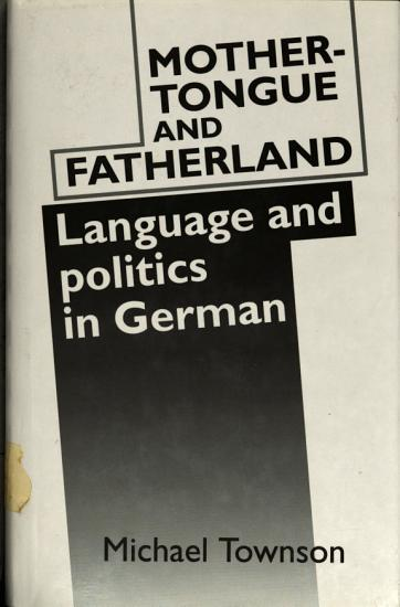 Mother tongue and Fatherland PDF