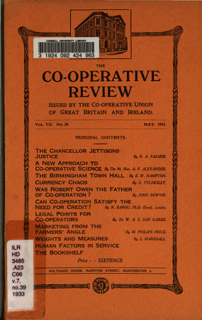 Co operative Review PDF