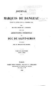 Journal du marquis de Dageneau: Volumes17à18