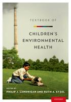 Textbook of Children s Environmental Health PDF