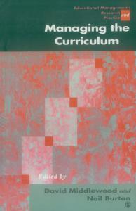 Managing the Curriculum Book