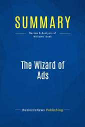 Summary: The Wizard of Ads: Review and Analysis of Williams' Book