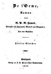 Romane: De l'Orme ; 5, Band 165