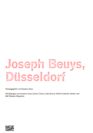 Joseph Beuys  D  sseldorf PDF