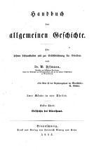 Handbuch der allgemeinen Geschichte PDF