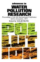 Advances in Water Pollution Research PDF