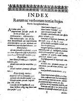 Exercitationes juris publici, in quibus de tutela electorali, ecclesiastica nobilibus imperii competente, jure consistoriorum ... tractatur: Volume 1