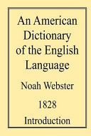 An American Dictionary of the English Language PDF