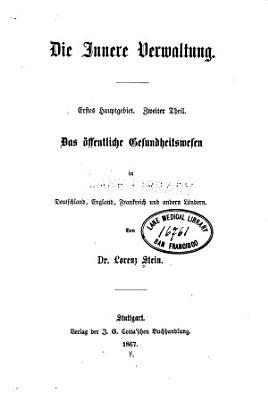 Die innere Verwaltung PDF