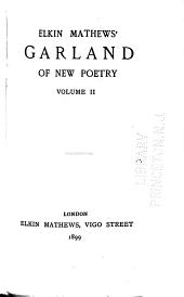 Garland of New Poetry: Volume 2
