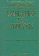 Legislatures and Legislators PDF