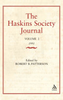 The Haskins Society Journal Studies in Medieval History
