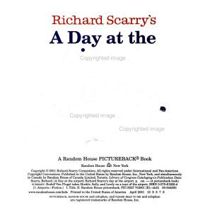 Richard Scarry s A Day at the Airport