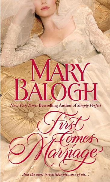 Download First Comes Marriage Book