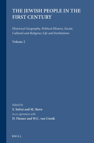 The Jewish People in the First Century, Volume 2