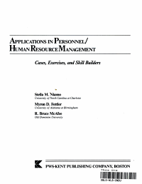 Applications in Personnel human Resource Management