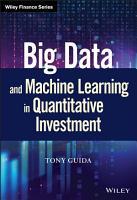 Big Data and Machine Learning in Quantitative Investment PDF