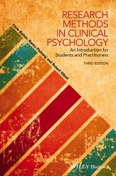 Research Methods in Clinical Psychology: An Introduction for Students and Practitioners, Edition 3