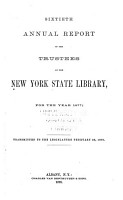 New York State Library  annual Report  PDF