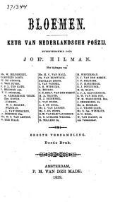 Bloemen: keur van Nederlandsche poëzy