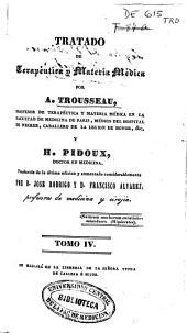 Tratado de terapéutica y materia médica: Volumen 4