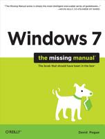 Windows 7  The Missing Manual PDF