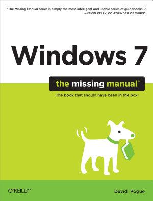Windows 7  The Missing Manual PDF