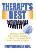 Therapy s Best PDF