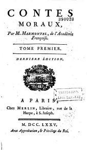 Contes moraux, par M. Marmontel,...