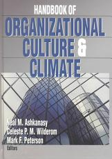 Handbook of Organizational Culture and Climate PDF