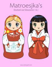 Matroesjka's Kleurboek voor Volwassenen 1 & 2