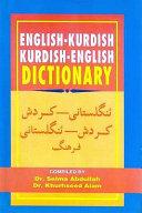 English Kurdish Kurdish English Dictionary