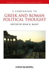 A Companion to Greek and Roman Political Thought PDF