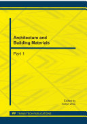 Architecture and Building Materials