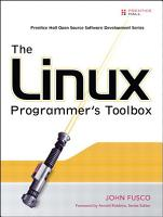 The Linux Programmer s Toolbox PDF