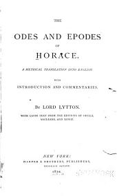 The Odes and Epodes of Horace: A Metrical Translation Into English