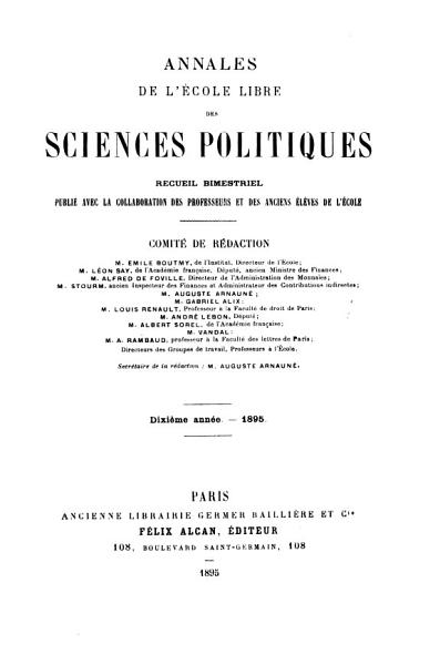 Download Science s  Politique s   Book