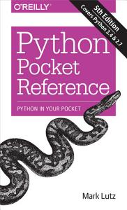 Python Pocket Reference PDF