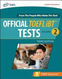Official TOEFL iBT Tests Volume 2  Third Edition PDF